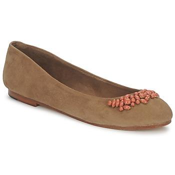 Παπούτσια Γυναίκα Μπαλαρίνες Ambre Babzoe DUFFY CAMEL