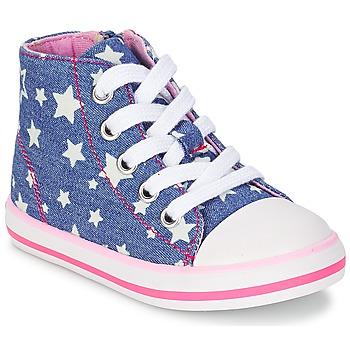 Παπούτσια Κορίτσι Ψηλά Sneakers Chicco CREMIXI DENIM / ETOILE