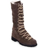 Παπούτσια Γυναίκα Μπότες Swamp STIVALE LACCI MONTONE Brown / Fonce