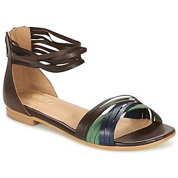Παπούτσια Γυναίκα Σανδάλια / Πέδιλα Casual Attitude FRANTO Brown