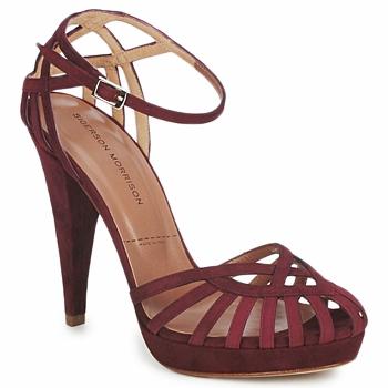 Παπούτσια Γυναίκα Σανδάλια / Πέδιλα Sigerson Morrison CAMOSO Rum