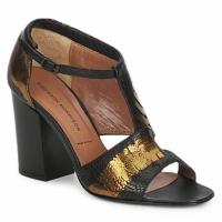 Παπούτσια Γυναίκα Σανδάλια / Πέδιλα Sigerson Morrison STRUZZO Black / BRONZE