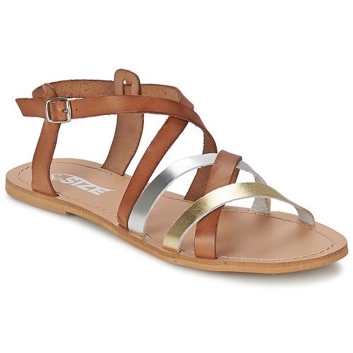 Παπούτσια Γυναίκα Σανδάλια / Πέδιλα So Size AVELA  noisette