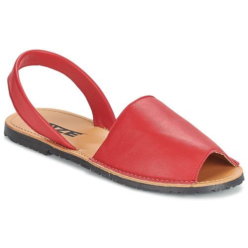 Παπούτσια Γυναίκα Σανδάλια / Πέδιλα So Size LOJA Red