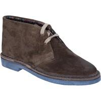 Παπούτσια Γυναίκα Χαμηλές Μπότες Italiane By Coraf ITALIANE stivaletti marrone camoscio BX656 Marrone