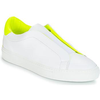 Παπούτσια Γυναίκα Χαμηλά Sneakers KLOM KISS Άσπρο / Yellow