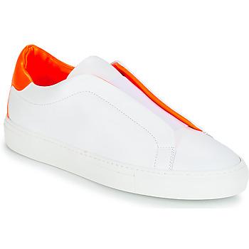 Παπούτσια Γυναίκα Χαμηλά Sneakers KLOM KISS Άσπρο / Orange