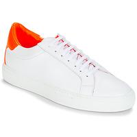 Παπούτσια Γυναίκα Χαμηλά Sneakers KLOM KEEP Άσπρο / Orange
