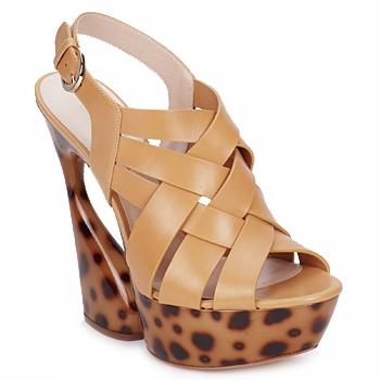 Παπούτσια Γυναίκα Σανδάλια / Πέδιλα Casadei MAGGY Sweet / Nature