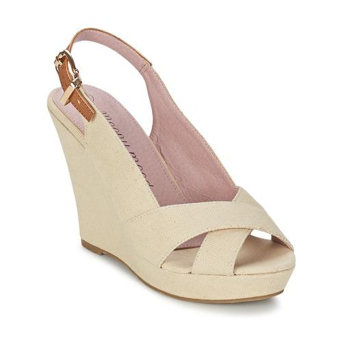 Παπούτσια Γυναίκα Σανδάλια / Πέδιλα Moony Mood AKOLM Beige