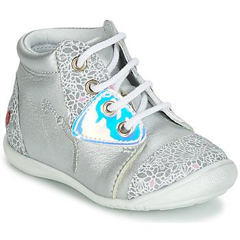 Παπούτσια Κορίτσι Ψηλά Sneakers GBB VERONA Silver