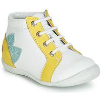 Παπούτσια Κορίτσι Ψηλά Sneakers GBB FRANCKIE Άσπρο / Yellow