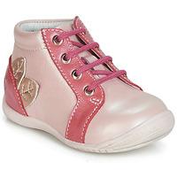 Παπούτσια Κορίτσι Ψηλά Sneakers GBB FRANCKIE Ροζ