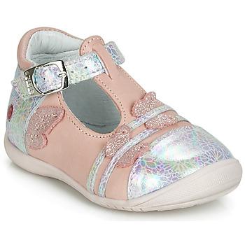 Παπούτσια Κορίτσι Μπαλαρίνες GBB MERTONE Ροζ / Silver