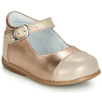 Παπούτσια Κορίτσι Μπαλαρίνες GBB BELISTO Ροζ / Χρυσο