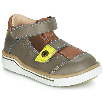 Παπούτσια Αγόρι Σανδάλια / Πέδιλα GBB PORRO Grey / Yellow