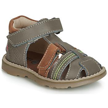 Παπούτσια Αγόρι Σανδάλια / Πέδιλα GBB SEVILLOU Grey / Brown