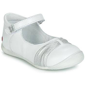Παπούτσια Κορίτσι Μπαλαρίνες GBB MALLA Άσπρο