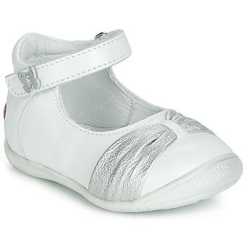 Παπούτσια Κορίτσι Μπαλαρίνες GBB MALLA Άσπρο / Silver
