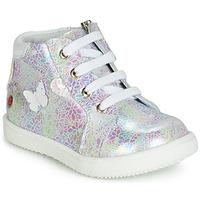Παπούτσια Κορίτσι Ψηλά Sneakers GBB MEFITA Άσπρο / Ροζ
