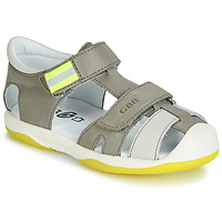 Παπούτσια Αγόρι Σανδάλια / Πέδιλα GBB BERTO Grey / Yellow