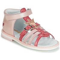 Παπούτσια Κορίτσι Σανδάλια / Πέδιλα GBB CARETTE Ροζ