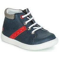 Παπούτσια Αγόρι Ψηλά Sneakers GBB FOLLIO Marine / Red