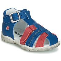 Παπούτσια Αγόρι Ψηλά Sneakers GBB ARIGO Vte / Μπλε-κόκκινο / Dpf / Filou