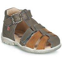 Παπούτσια Αγόρι Σανδάλια / Πέδιλα GBB PRIGENT Vtu / ΓΚΡΙ-fauve / Dpf / Filou