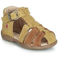 Παπούτσια Αγόρι Σανδάλια / Πέδιλα GBB PRIGENT Grey / Moutarde