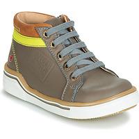 Παπούτσια Αγόρι Ψηλά Sneakers GBB QUITO Grey / Yellow
