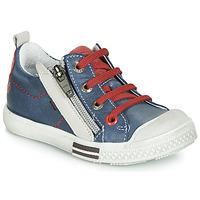Παπούτσια Αγόρι Χαμηλά Sneakers GBB STELLIO Μπλέ / Red