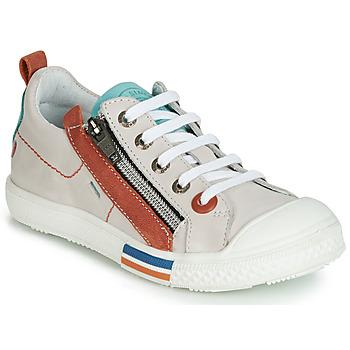 Παπούτσια Αγόρι Χαμηλά Sneakers GBB STELLIO Άσπρο