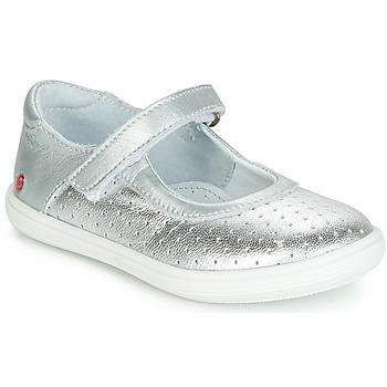 Παπούτσια Κορίτσι Μπαλαρίνες GBB PLACIDA Silver