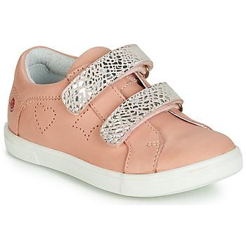 Παπούτσια Κορίτσι Χαμηλά Sneakers GBB BALOTA Ροζ / Silver