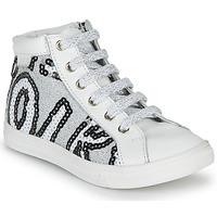 Παπούτσια Κορίτσι Ψηλά Sneakers GBB MARTA Άσπρο / Silver