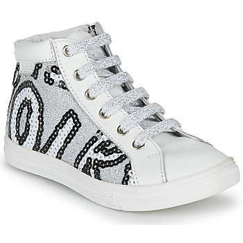 Παπούτσια Κορίτσι Ψηλά Sneakers GBB MARTA Svt / ΑΣΠΡΟ-ΠΑΓΙΕΤΕΣ / Argenté / Dpf / Dolby