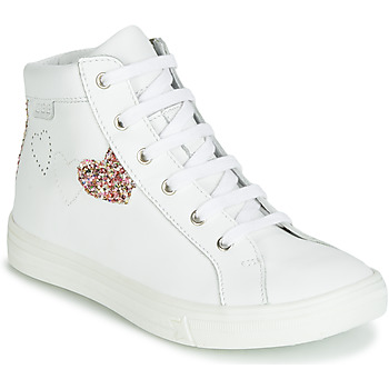 Παπούτσια Κορίτσι Ψηλά Sneakers GBB MARTA Άσπρο / Multicolore