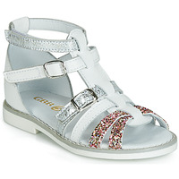 Παπούτσια Κορίτσι Σανδάλια / Πέδιλα GBB MONELA Άσπρο