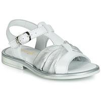 Παπούτσια Κορίτσι Σανδάλια / Πέδιλα GBB MESSENA Άσπρο / Silver