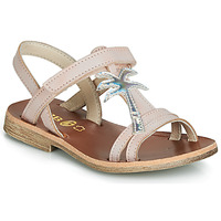 Παπούτσια Κορίτσι Σανδάλια / Πέδιλα GBB SAPELA Ροζ / Silver