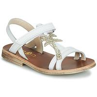 Παπούτσια Κορίτσι Σανδάλια / Πέδιλα GBB SAPELA Άσπρο / Gold