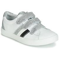 Παπούτσια Κορίτσι Χαμηλά Sneakers GBB MADO Άσπρο / Silver