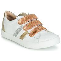Παπούτσια Κορίτσι Χαμηλά Sneakers GBB MADO Άσπρο / Gold