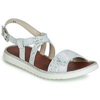 Παπούτσια Κορίτσι Σανδάλια / Πέδιλα GBB ADRIANA Άσπρο / Silver