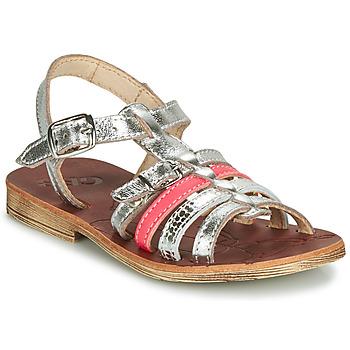 Παπούτσια Κορίτσι Σανδάλια / Πέδιλα GBB BANGKOK Silver / Ροζ