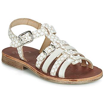 Παπούτσια Κορίτσι Σανδάλια / Πέδιλα GBB BANGKOK Beige / Άσπρο