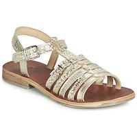 Παπούτσια Κορίτσι Σανδάλια / Πέδιλα GBB BANGKOK Gold