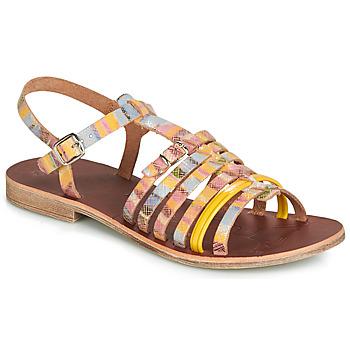 Παπούτσια Κορίτσι Σανδάλια / Πέδιλα GBB BANGKOK Orange