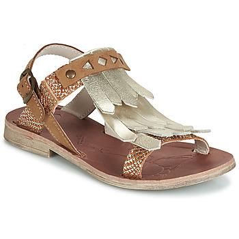 Παπούτσια Κορίτσι Σανδάλια / Πέδιλα GBB ACARO Brown / Gold